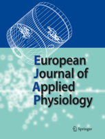 xavier woorons european journal of applied physiology